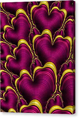 Swirling Desires Canvas Print - My Hearts Desire by HH Photography of Florida