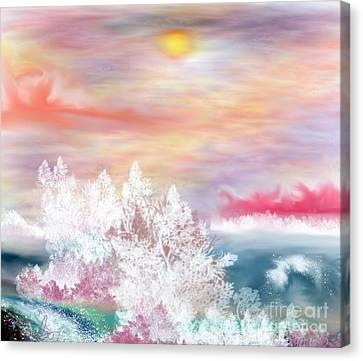 My Heaven Canvas Print