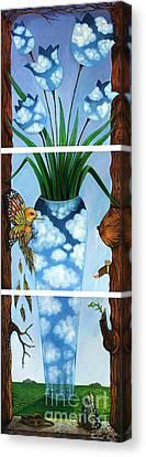 My Imagination Canvas Print by Praphavit Premtha