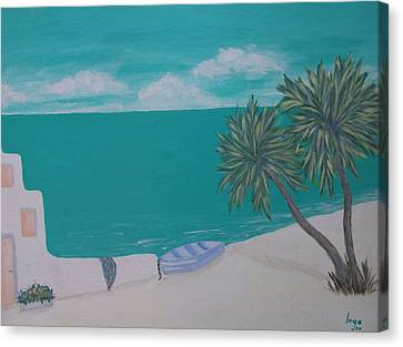 My Island Canvas Print by Inge Lewis