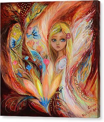 My Little Fairy Sandy Canvas Print