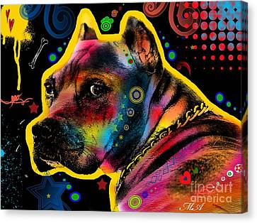 My Lovely Guy Canvas Print by Mark Ashkenazi