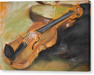 My Lttle Violin Canvas Print