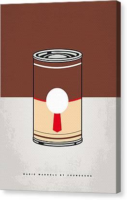 Super Mario Bros Canvas Print - My Mario Warhols Minimal Can Poster-donkey Kong by Chungkong Art