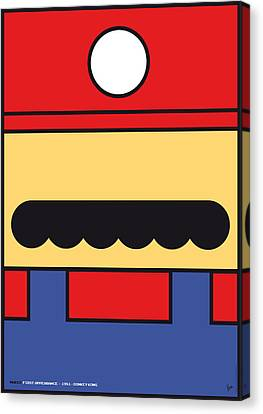 My Mariobros Fig 01 Minimal Poster Canvas Print