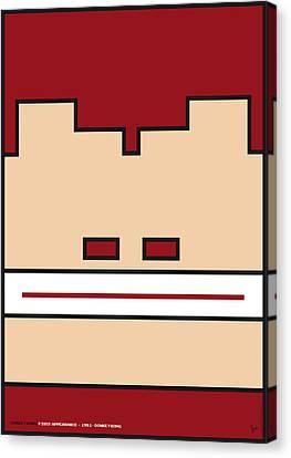 My Mariobros Fig 03 Minimal Poster Canvas Print