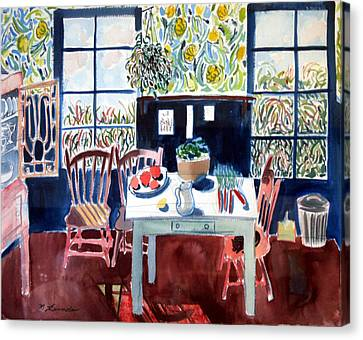 My Matisse Kitchen Canvas Print