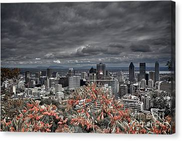 My Montreal's Colors Canvas Print