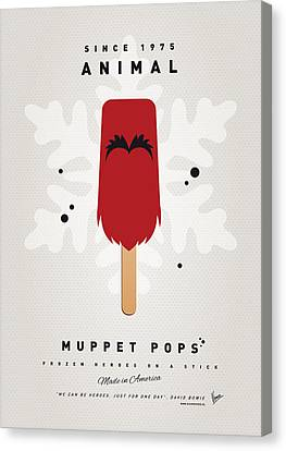 My Muppet Ice Pop - Animal Canvas Print by Chungkong Art