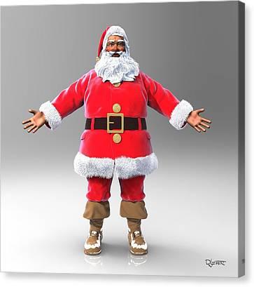 My Name Is Santa Canvas Print