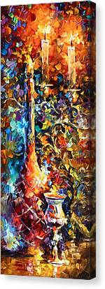 My Old Thoughts 2 Canvas Print by Leonid Afremov