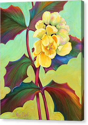 My Oregon Grape Canvas Print by Sandi Whetzel