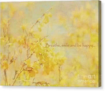 My Own Sunshine Canvas Print by Irina Wardas