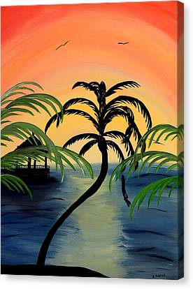 My Paradise Canvas Print by Mark Moore