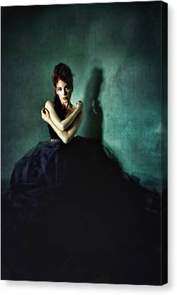 My Place Among The Shadows Canvas Print by Spokenin RED