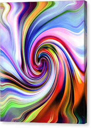 My Pot Of Colors Canvas Print by Steve K