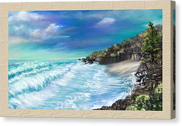 My Private Ocean Canvas Print