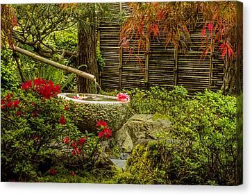 My Quiet Corner Canvas Print by Calazone's Flics