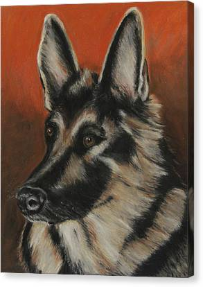 My Sadie Canvas Print by Jeanne Fischer