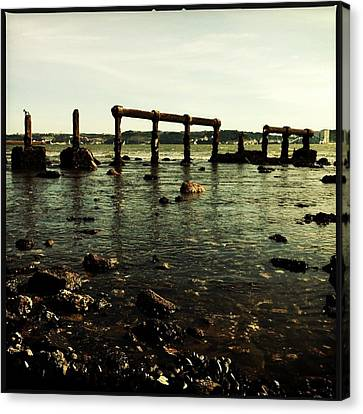 My Sea Of Ruins Canvas Print by Marco Oliveira