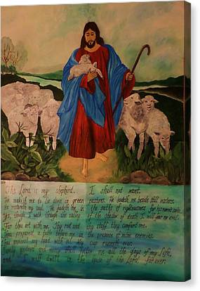 My Shepherd Canvas Print by Christy Saunders Church