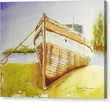My Ship Came In Canvas Print by Robert  ARTSYBOB Havens
