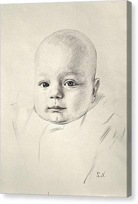 My Son Peter 2008 Canvas Print by Svitozar Nenyuk