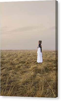 Gown Canvas Print - My Soul Awaits by Evelina Kremsdorf