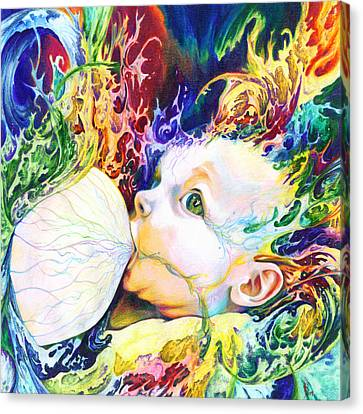 Mix Media Canvas Print - My Soul by Kd Neeley