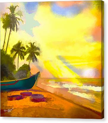 My Special Island Canvas Print