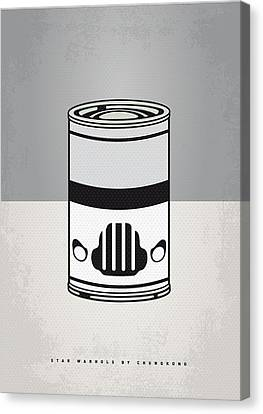 My Star Warhols Stormtrooper Minimal Can Poster Canvas Print