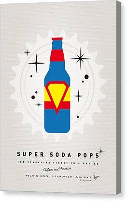 My Super Soda Pops No-05 Canvas Print by Chungkong Art