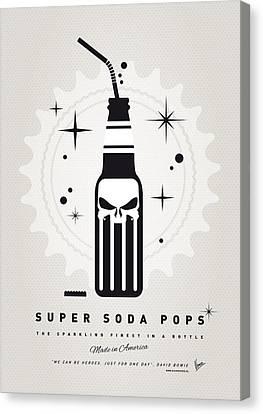 My Super Soda Pops No-15 Canvas Print by Chungkong Art