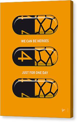 My Superhero Pills - The Thing Canvas Print by Chungkong Art