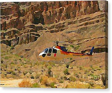 My Taxi To The Grand Canyon And Back Canvas Print by John Malone