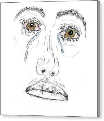 My Tears Canvas Print