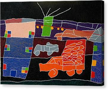 My Town Canvas Print by Ilir Bala