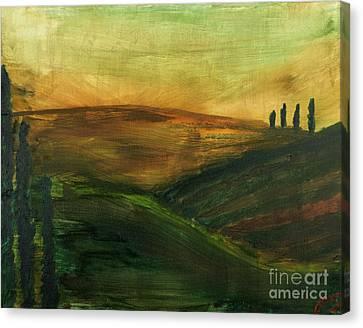My Tuscany  Canvas Print by Katy  Scott