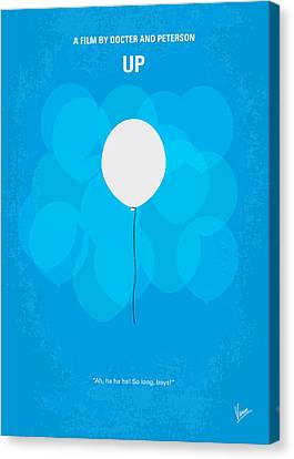 My Up Minimal Movie Poster Canvas Print