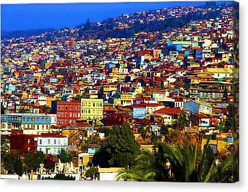 My Valparaiso Canvas Print by Kurt Van Wagner