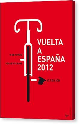 Free Canvas Print - My Vuelta A Espana Minimal Poster by Chungkong Art