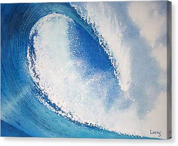 My Wave Canvas Print by Jeff Lucas