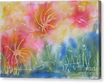 Mya's Garden Canvas Print