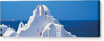 Mykonos Island Greece Canvas Print by Panoramic Images