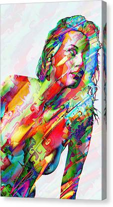 Myriad Of Colors Canvas Print