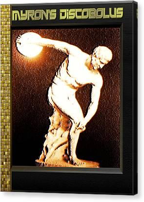Myron's Diskobolus Canvas Print by Museum Quality Prints -  Trademark Art Designs