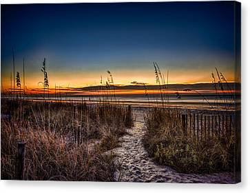 Myrtle Beach Path Canvas Print
