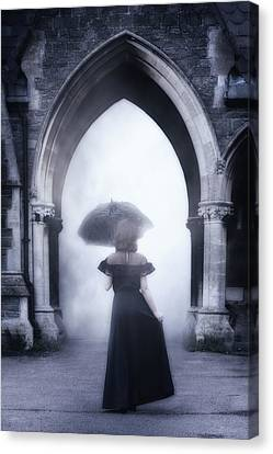 Mysterious Archway Canvas Print by Joana Kruse
