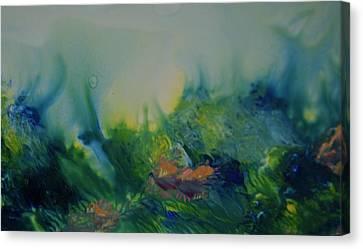 Mysterious Ocean Canvas Print