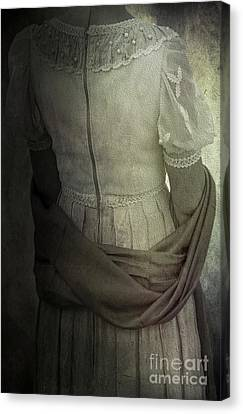 Mysterious Woman Canvas Print by Svetlana Sewell